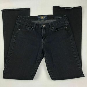 Lucky Brand Size 4 / 27 Black Jeans Sofia Bootcut